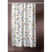 River's Edge Fishing Lure Shower Curtain