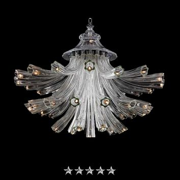 Grand Bocelli Murano Glass Chandelier