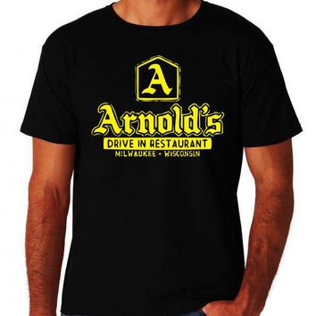 Arnolds Diner 80's TV T Shirt