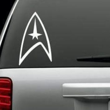 Star Trek Logo Decal Sticker for Window Car Windows Truck Room