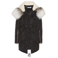 altuzarra - sontag down parka with fur-trimmed hood