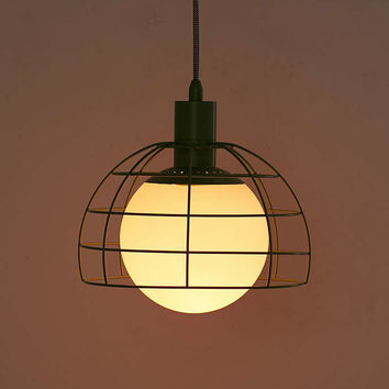 Silo Cage Pendant Light - Urban Outfitters