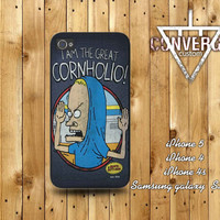 Beavis an Butthead Cornholio Case for Iphone 4/4s,Iphone5 Case,Samsung Galaxy s2,s3