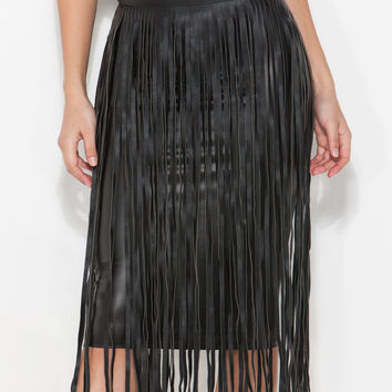 Hula Girl Fringe Belt