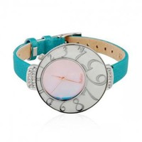 Big Number Dial RhinestoneStudded Watch