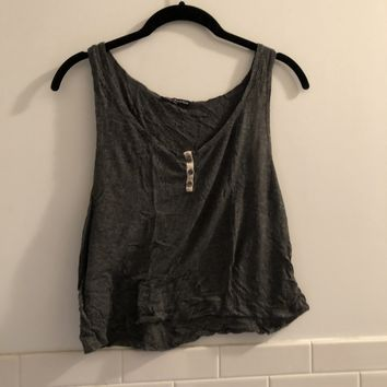 Brandy Melville Button Tank