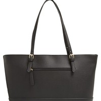 Junior Women's BP. Crosshatch Faux Leather Tote