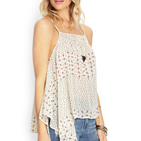 Floral Flare Woven Cami