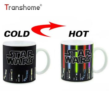 Color Change Porcelain Mug Star Wars Lightsaber 11oz Ceramic Coffee Mug