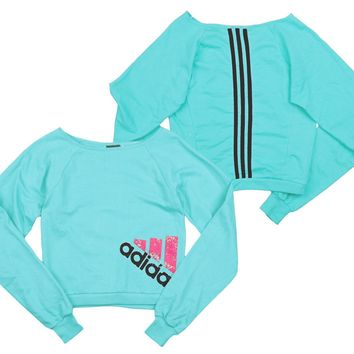 Adidas Youth Big Girls Wardrobe Dance Sweatshirt