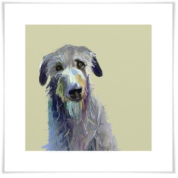 Best Friend - Wolfhound Wall Art