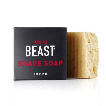 Tame the Beast Shave Soap (4 oz)