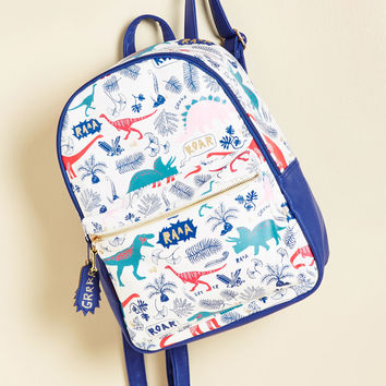 Dino It's Possible Backpack | Mod Retro Vintage Bags | ModCloth.com