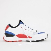 Puma RS-0 Sound White Trainers at asos.com