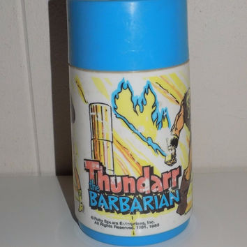 Thundarr The Barbarian Aladdin Thermos Spouted Cap
