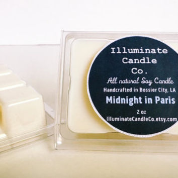 Midnight in Paris Soy wax melt|Wax Tarts| Handmade| Soy Wax| Gifts for her| scented