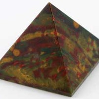 30- 35mm Bloodstone pyramid [GPYB] - $14.95 : Magickal Products, Crystals, Tarot Decks, Incense, and More!