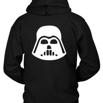 DCCKG72 Star Wars Character Darth Vader Hoodie Two Sided