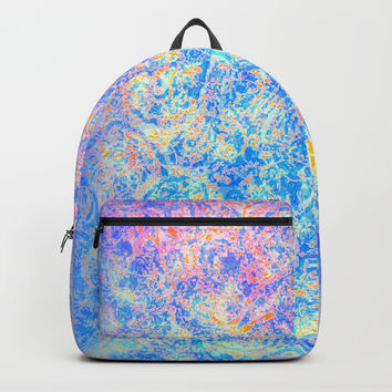 Watercolor Paisley Backpacks by Jan4insight