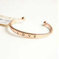 Womens Mens Fashion Casual Adjustable Love Bracelet Best Gift