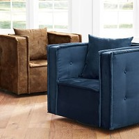 Cushy Swivel Chair