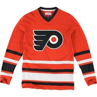 Mitchell and Ness Philadelphia Flyers Mens NHL 1st Period Fashion - Orange