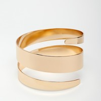 Swirl Around Cuff Bracelet