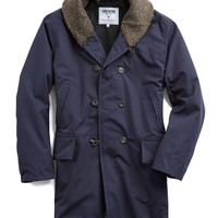 Todd Snyder + Private White Northerner Storm Trench in Navy