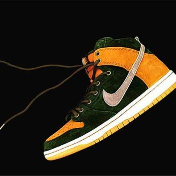 Nike SB Dunk High Premium Homegrown 839693-302 Size 40-45
