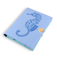 Seahorse / Ipad Mini 1 2 3 case / Kindle case / Kindle Fire HDX / Samsung Galaxy tab 4 / kindle paperwhite / Kobo / unique christmas gifts