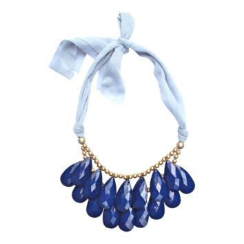Punch Necklace as seen on Redbook.com {Six Color Options}