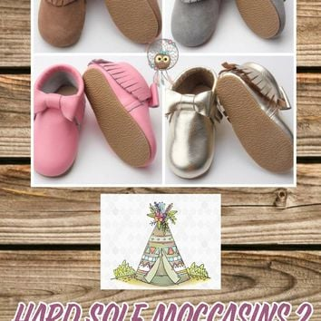 Hard Sole Toddler Moccasins*Part 2 Preorder- 0577*Closes: October 23rd at 8pm*ETA: 8 weeks