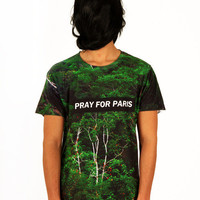 Pray for Paris forest t-shirt (all over print) | Pray For Paris