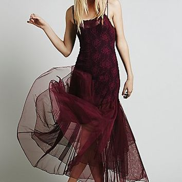 Intimately Womens After Hours Lace Maxi