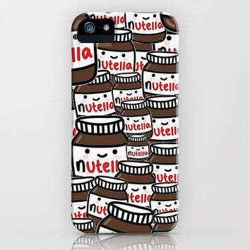 Nutella Love iPhone & iPod Case by Pink Berry Pattern