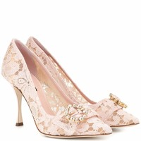 Lori lace pumps