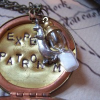 harry potter Expecto Patronum protection amulet by 1luckysoul