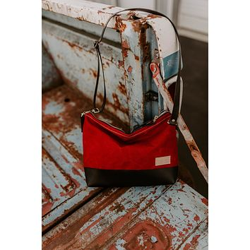 The Alsea Crossbody in Waxed Canvas