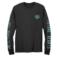 Future Spray Longsleeve T-Shirt - T-Shirt - Apparel