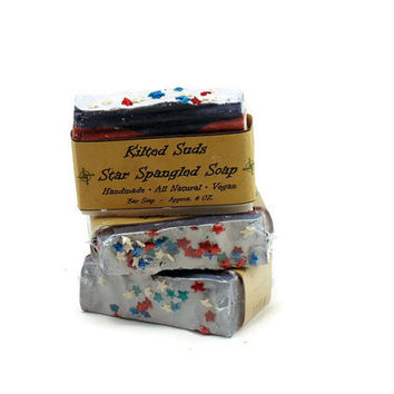 Star Spangled Soap