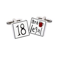 18 And Legal Cufflinks