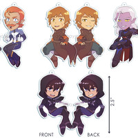 Voltron Keychains from andreayewon