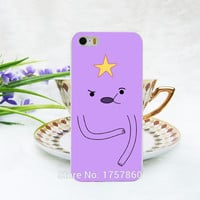 Adventure Time Lumpy Space Princess Hard White Case for iphone 5 5s 4 4g 4S 5c
