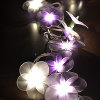 Purple Tone Wedding Flower Lights Fairy String Lights for home decorate 20 Lights/Set