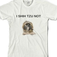 White T-Shirt | Funny Dog Pet Shirts