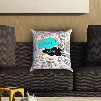 The Fault In Our Stars Pillow Cover , Custom Zippered Pillow Case One Side Two SIde