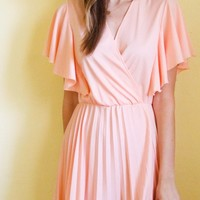 tea and tulips boutique - one of a kind vintage. ? peachy greek goddess dress