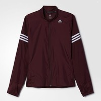 adidas Response Wind Jacket - Brown | adidas US