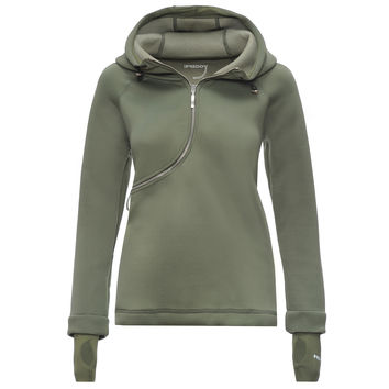D.I.W.O. CURVE BREATHABLE SWEATSHIRT- Army