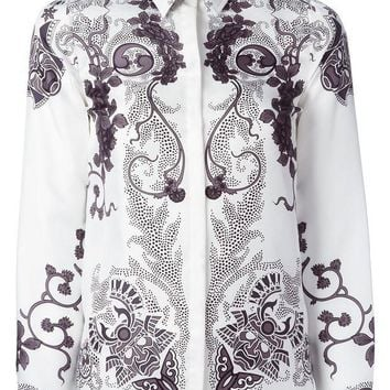 ICIKIN3 Versace Collection paisley style shirt